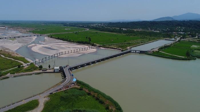 حدود 700 میلیون متر مکعب آب تا کنون تحویل شبکه آبیاری و زهکشی گیلان شده است