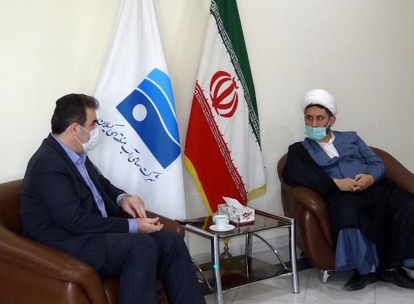 دیدار نماینده مردم رودسر و املش در مجلس شورای اسلامی با مدیرعامل آب منطقه ای گیلان انجام شد